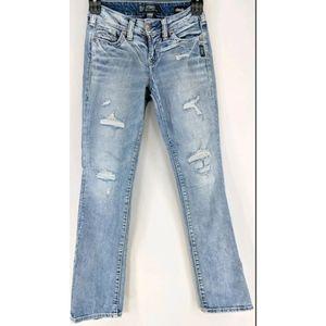 Silver Suki Jeans Women's Size 24